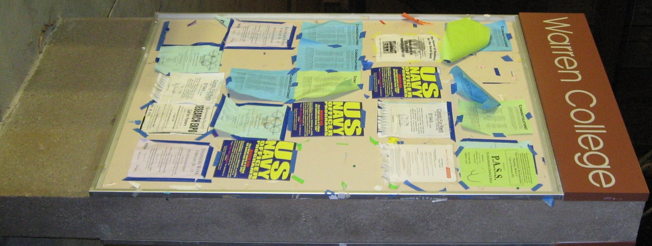 Warren Walk Boards : Social architectures suggested projects